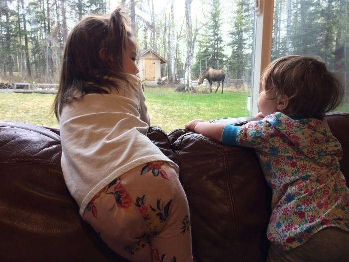 Girls & Moose