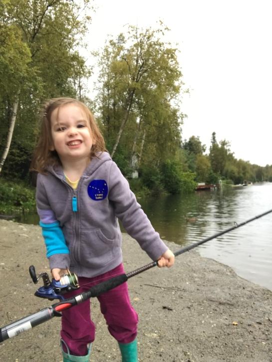 Ruth fishing